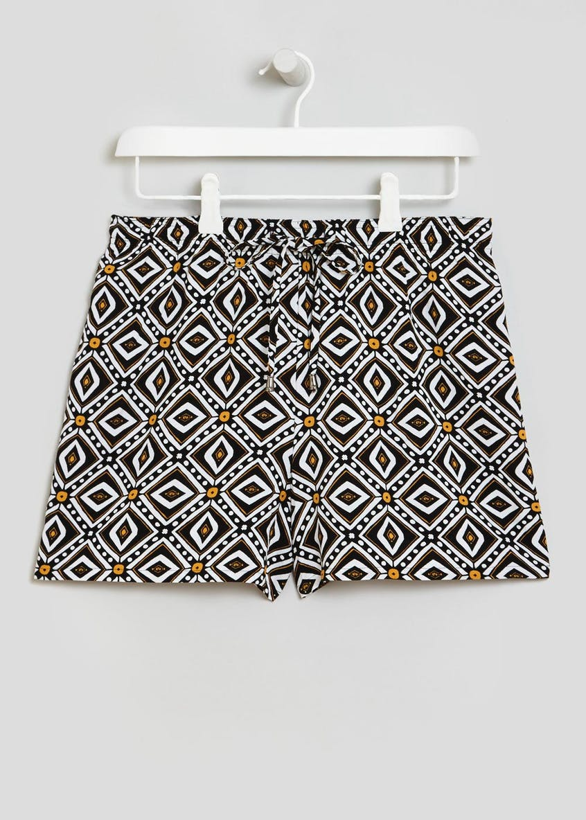 Diamond Geo Viscose Shorts