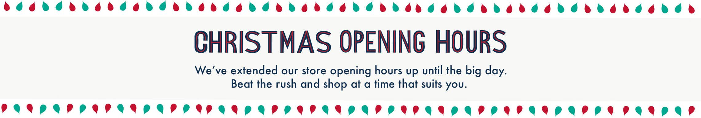 Christmas & Boxing Day Store Opening Hours 2017 – Matalan