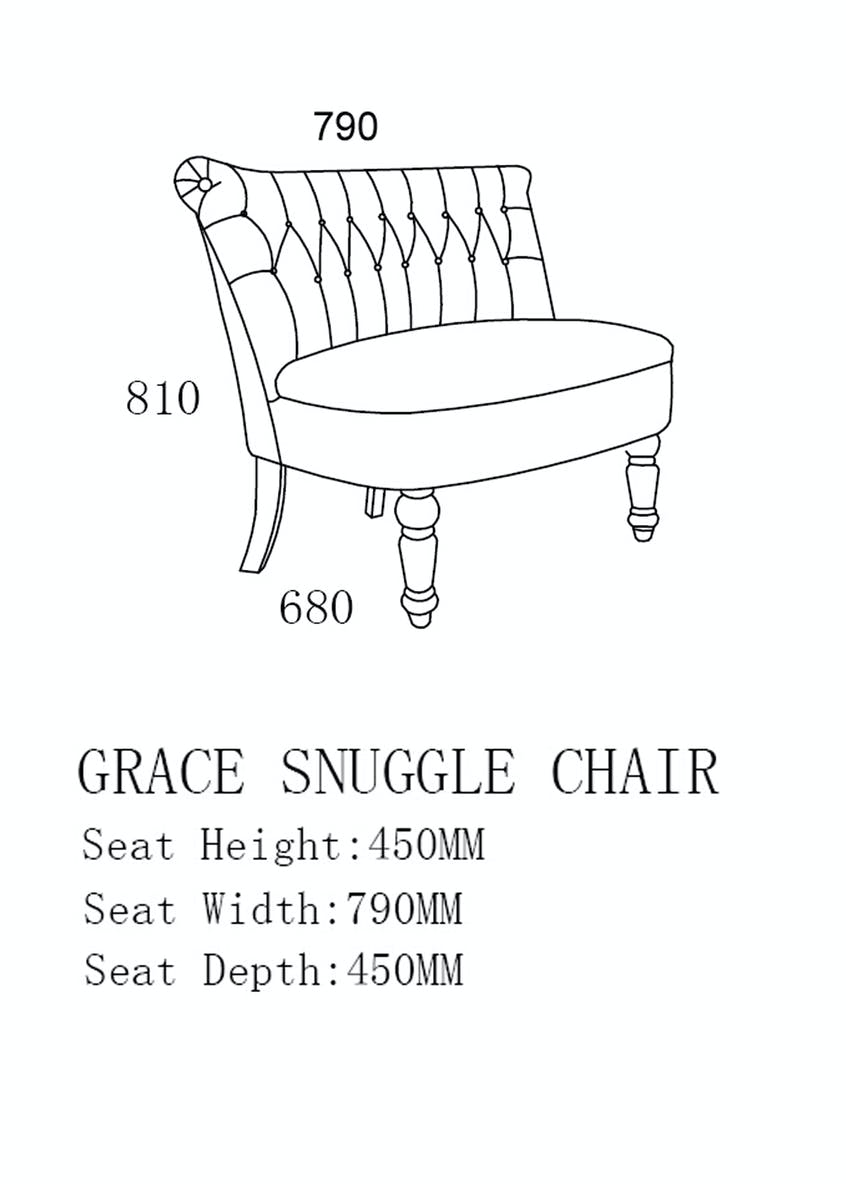 Grace Snuggle Chair
