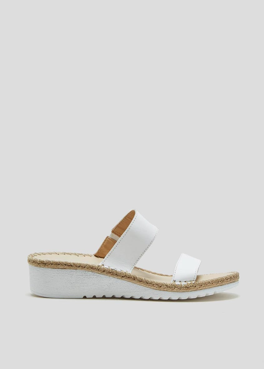 Soleflex Real Leather Twin Strap Sandals