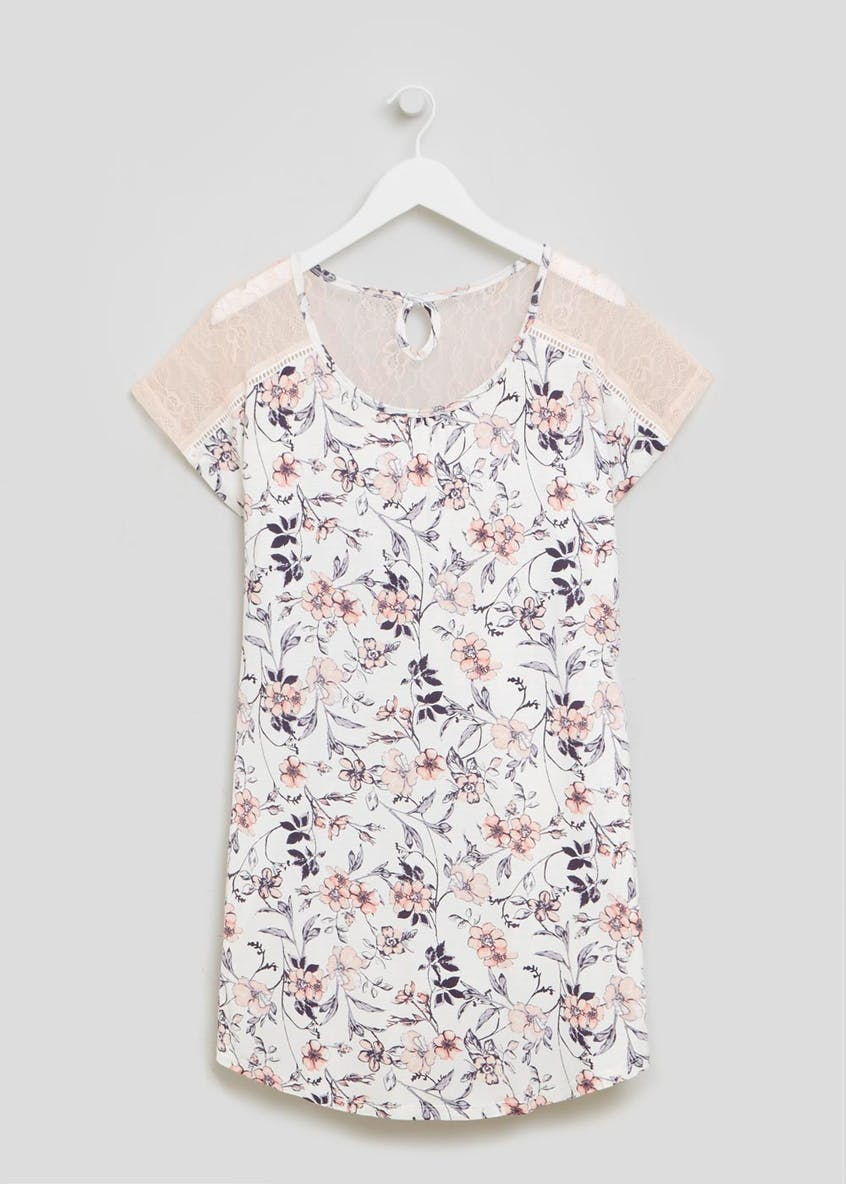 Floral Viscose Nightie