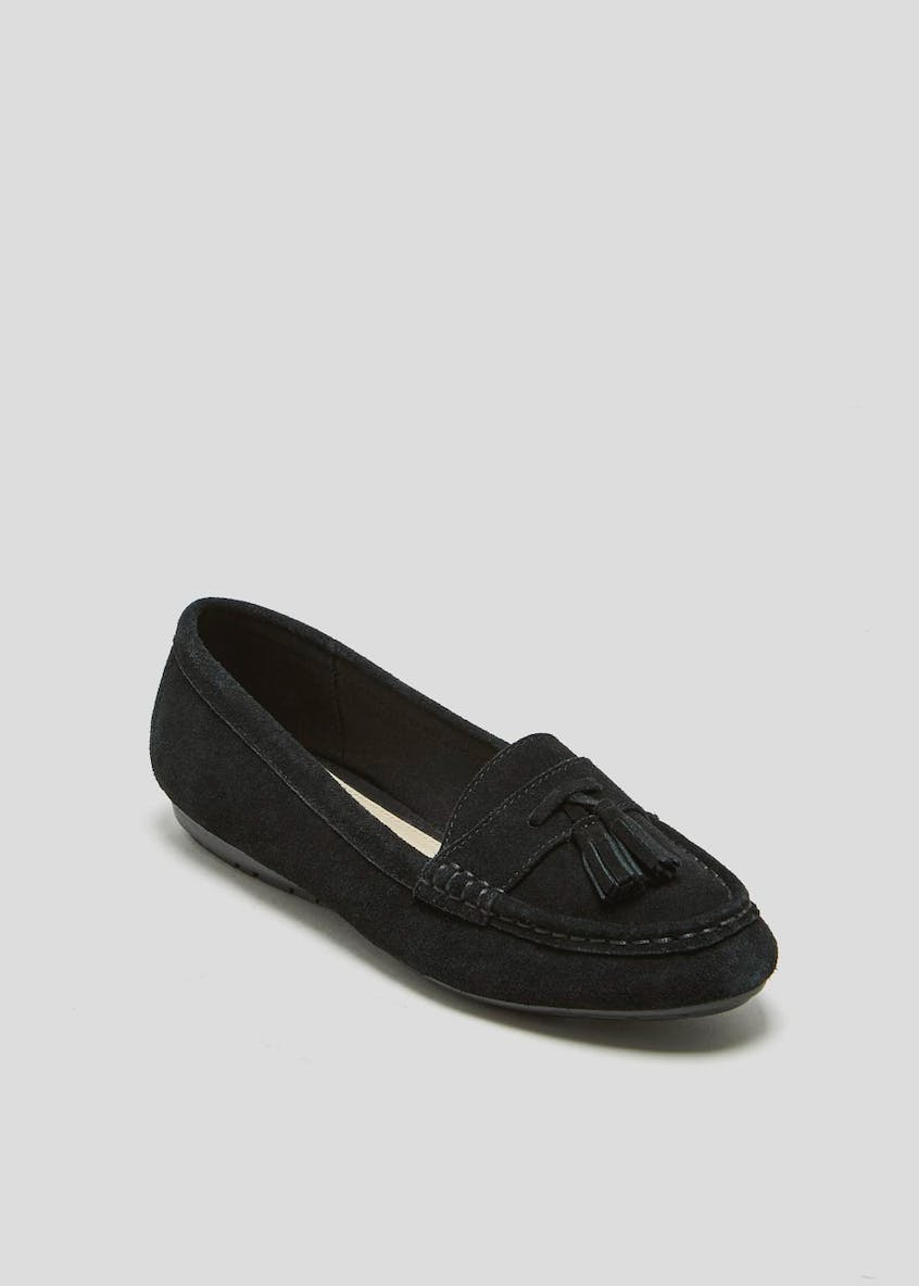 Soleflex Real Suede Tassel Loafers