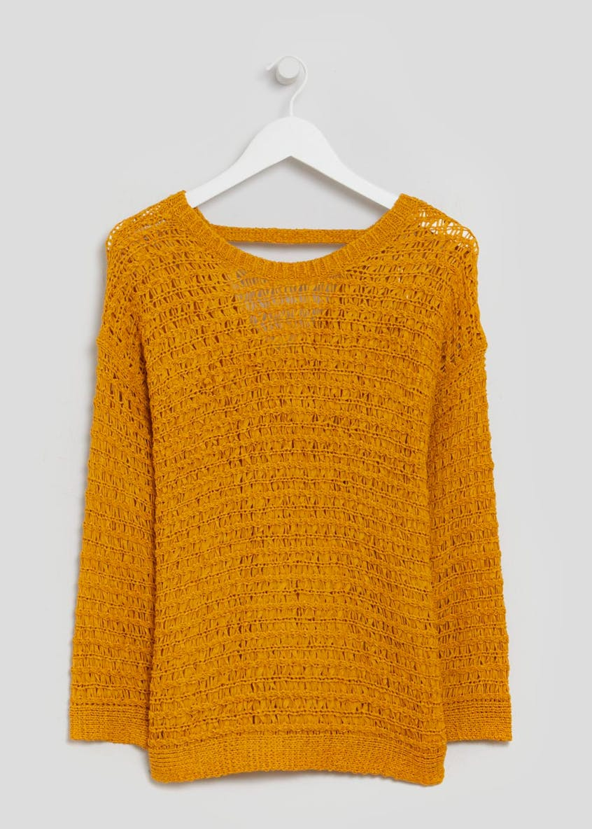 Open Stitch Jumper