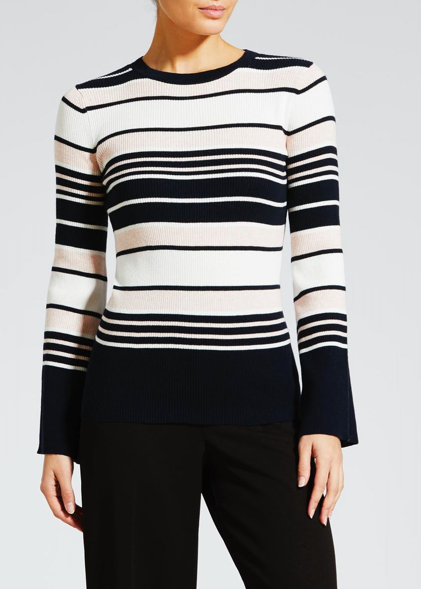 Stripe Ribbed Jumper
