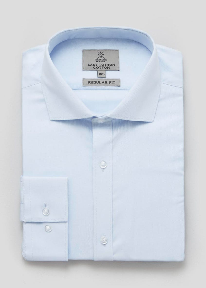 100  Cotton Regular Fit Oxford Shirt