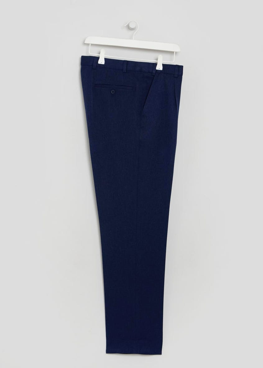 Brushed Twill Flexi Waist Trouser