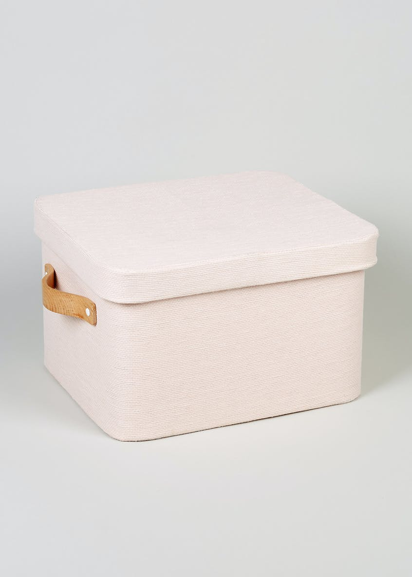 Fabric Storage Box (35cm x 30cm x 21cm)