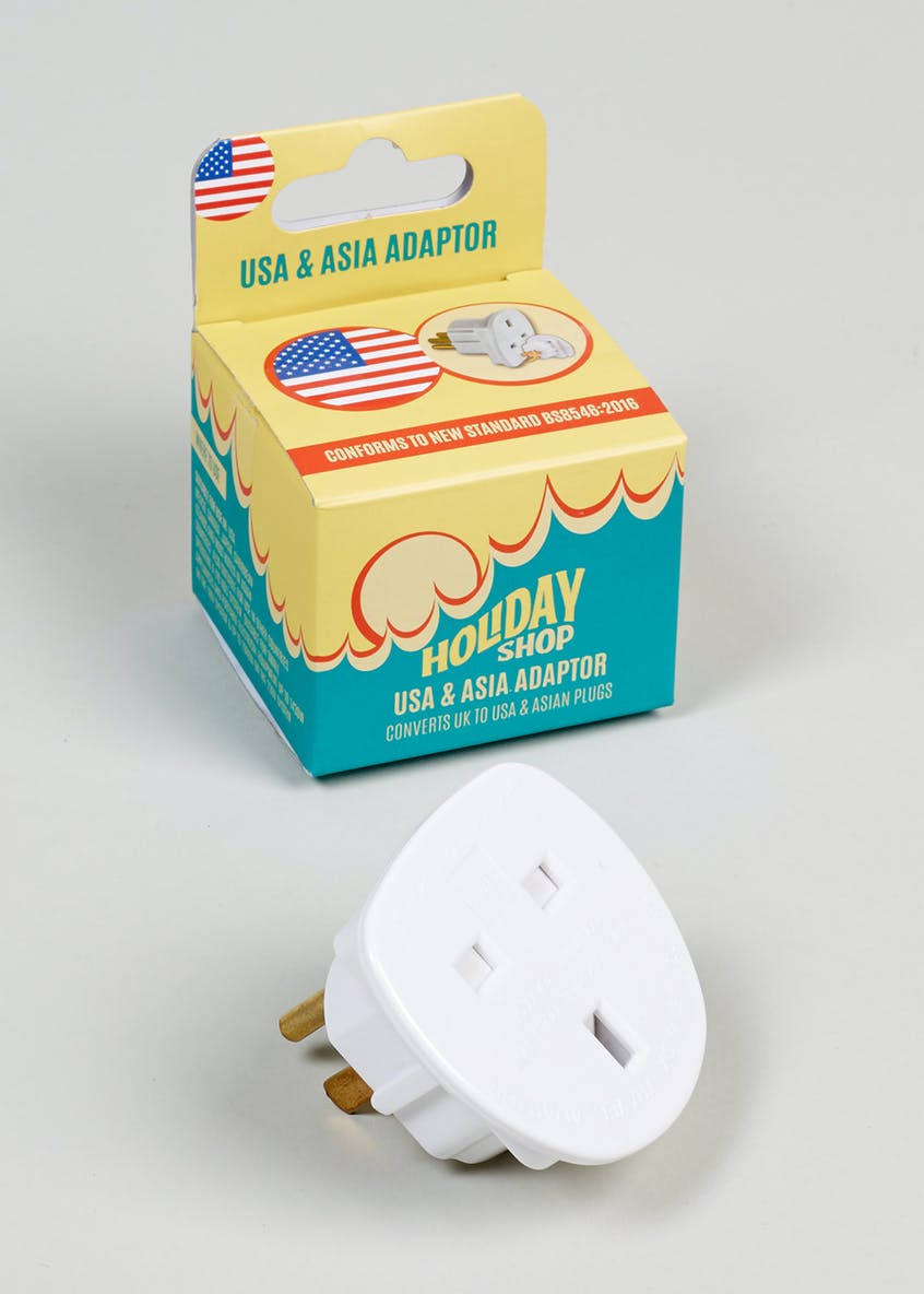 USA & Asia Adapter Plug