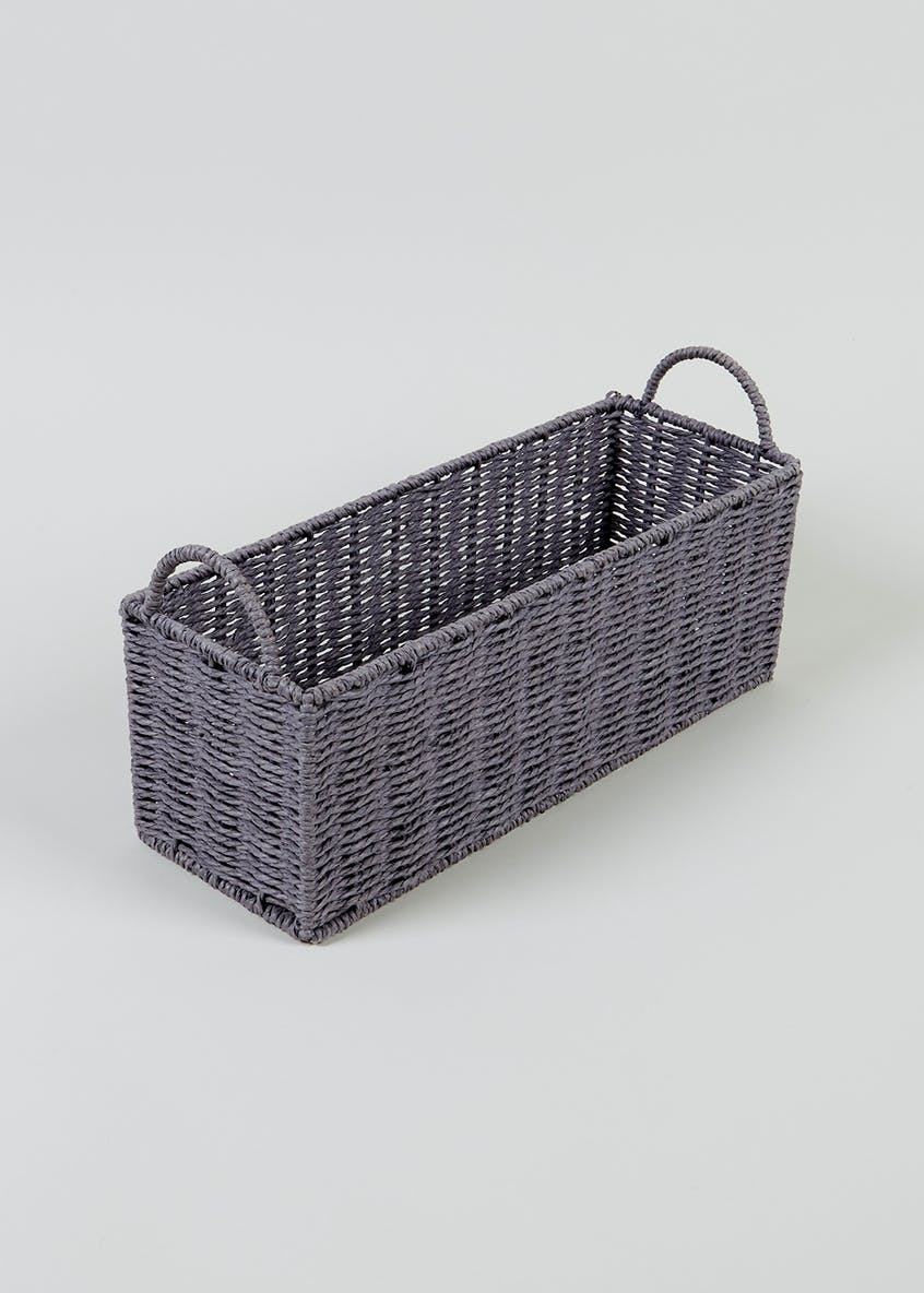 Paper Rope Window Shelf Tray (40cm x 15cm x 15cm)