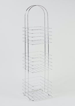 3 Tier Wire Storage Caddy (84cm x 19cm x 19cm)