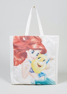 Kids Disney Ariel Canvas Tote Bag