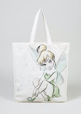 Kids Tinkerbell Canvas Tote Bag (One Size)