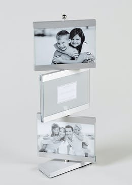 Rotating Multi Aperture Photo 6x4 Frame (28cm x 22cm)