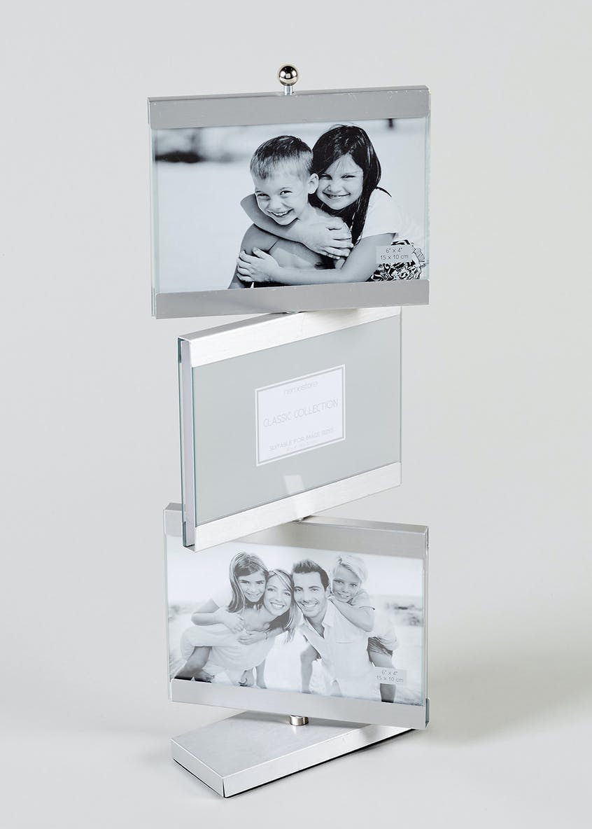 Rotating Multi Aperture Photo Frame (28cm x 22cm)