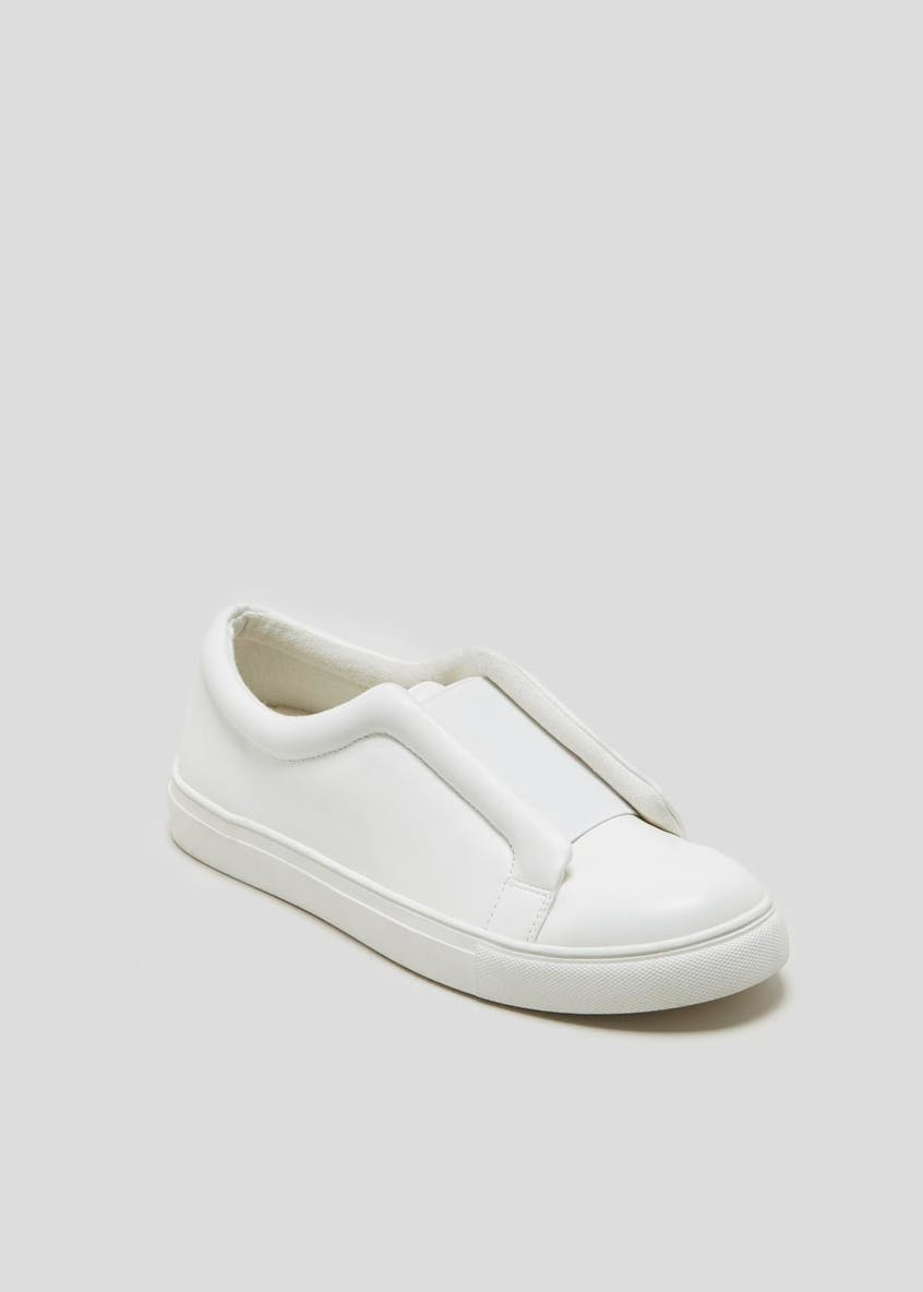Elastic Slip On Trainers