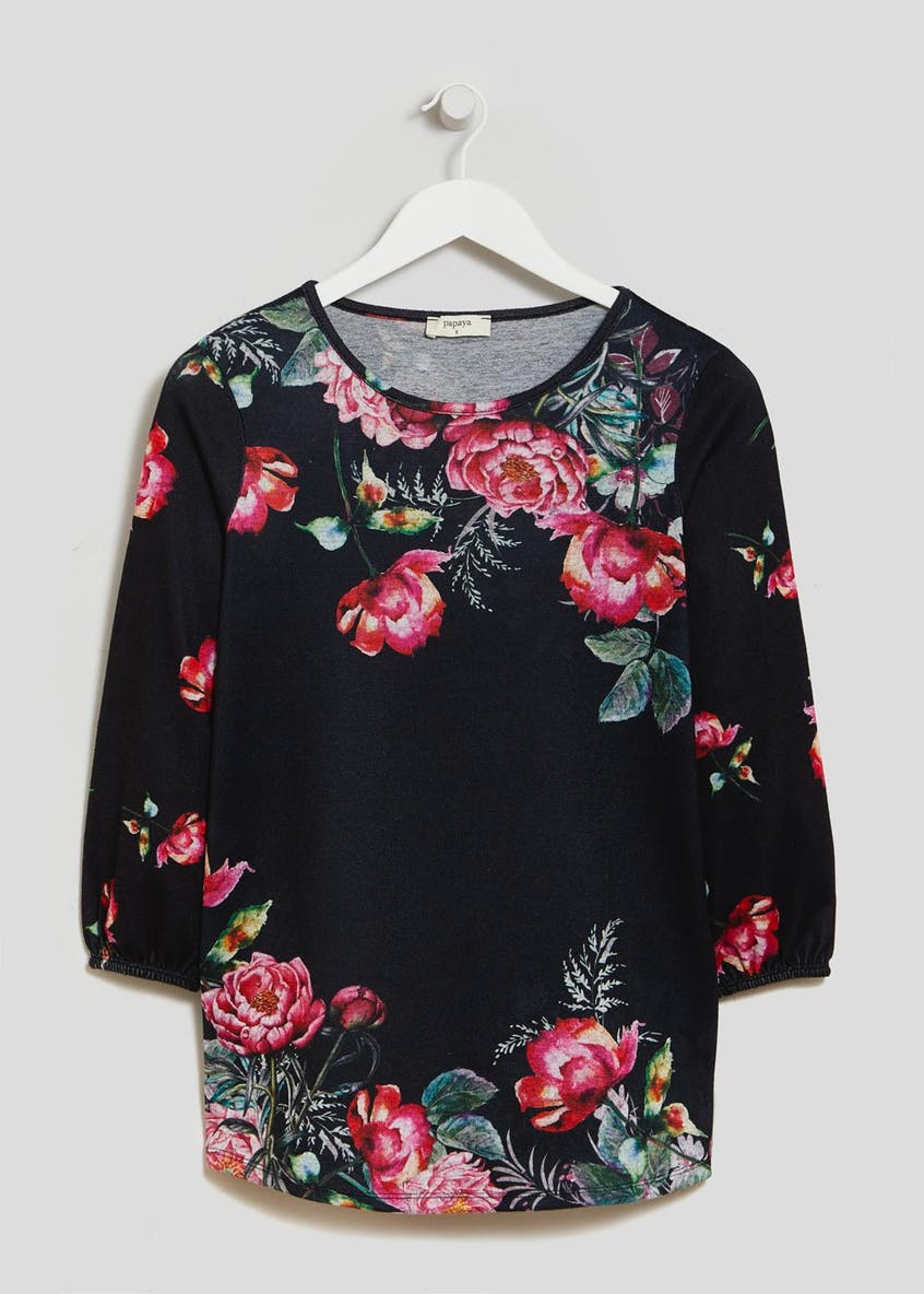 Floral Soft Touch Sweatshirt