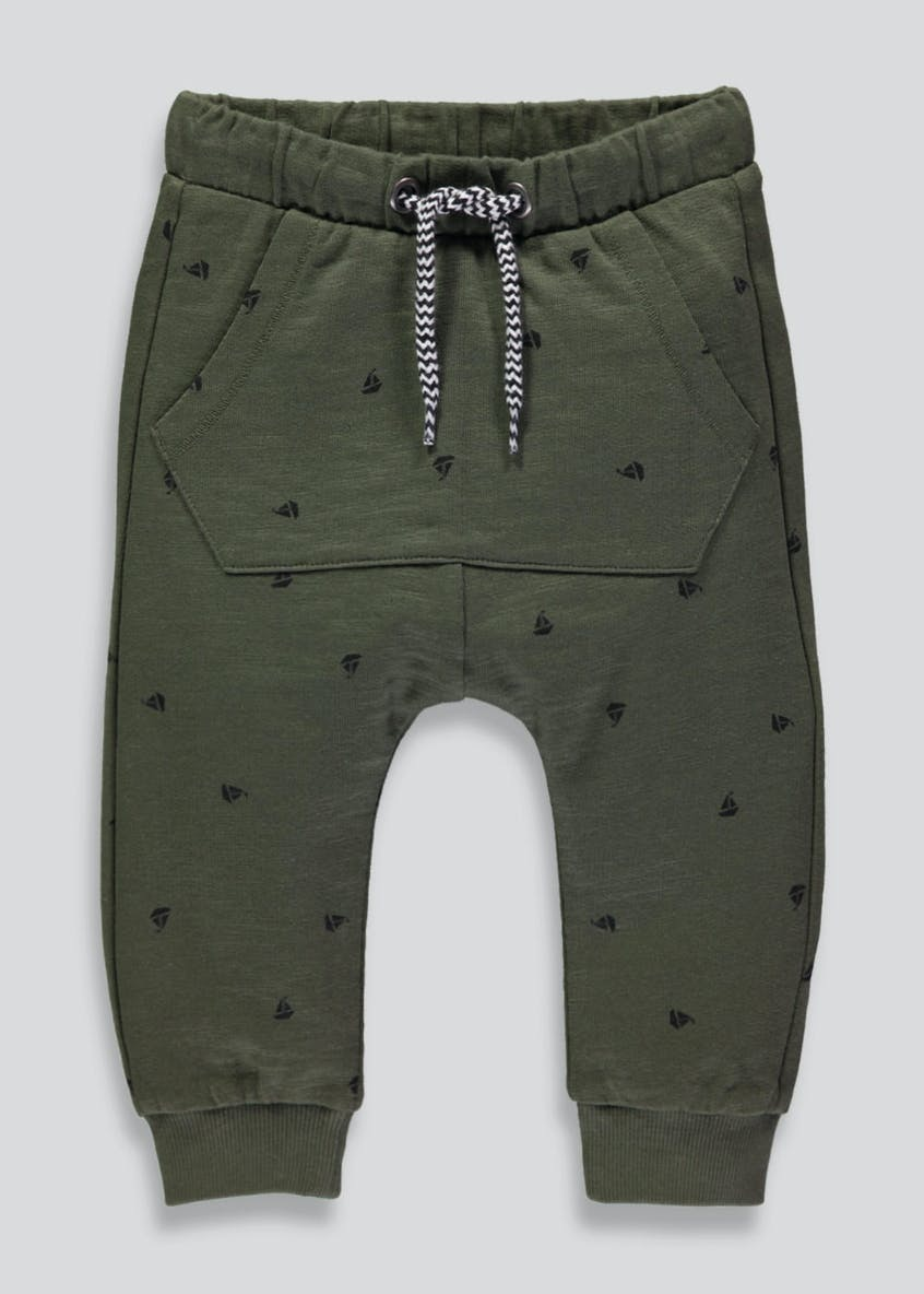 Boys Boat Dropped Crotch Jogging Bottoms (3mths-6yrs)