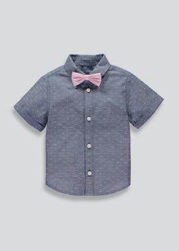 Boys Premium Shirt & Bow Tie (6mths-6yrs)