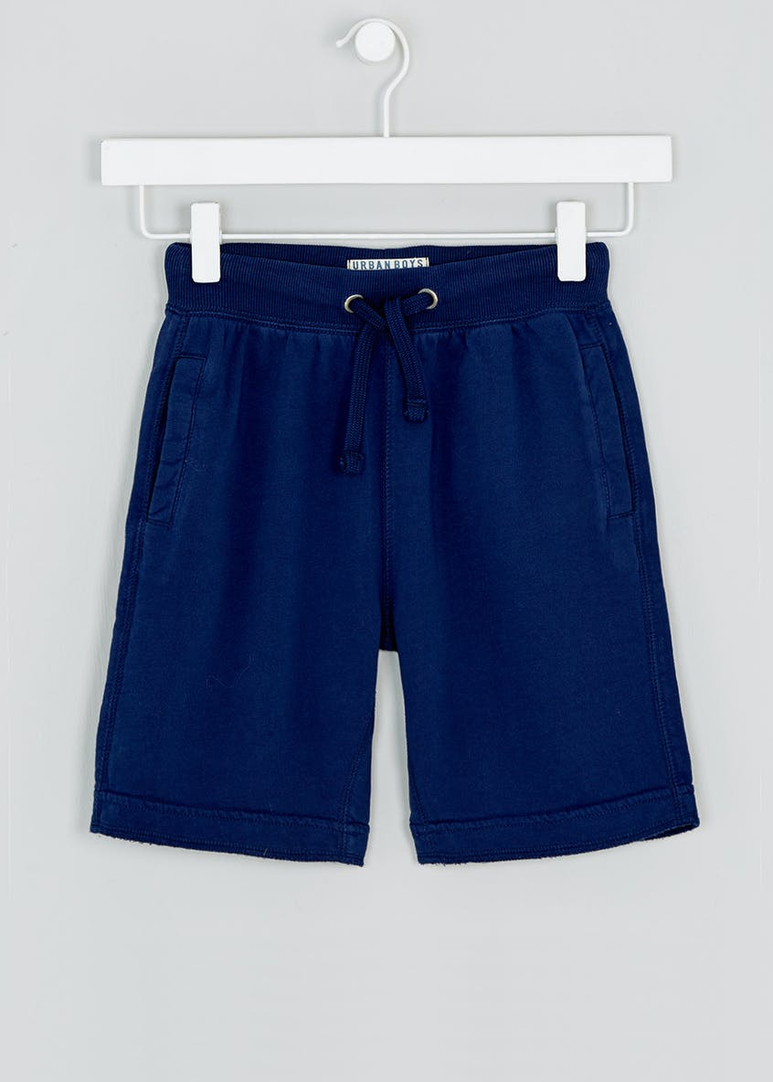 Boys Washed Jogging Shorts (4-13yrs)