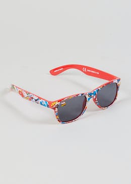 Kids Marvel Comics Sunglasses (One Size)