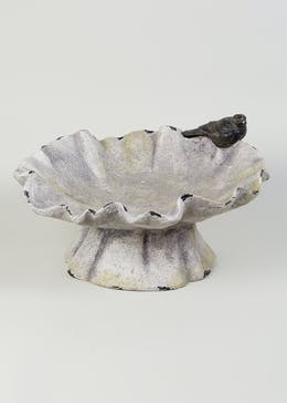 Resin Bird Bath (45cm x 38cm x 25cm)