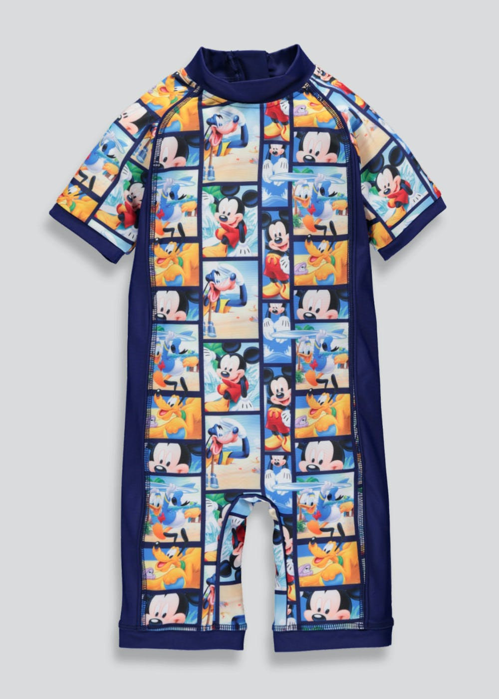 Kids Disney Mickey Mouse Surf Suit 3mths 4yrs Navy
