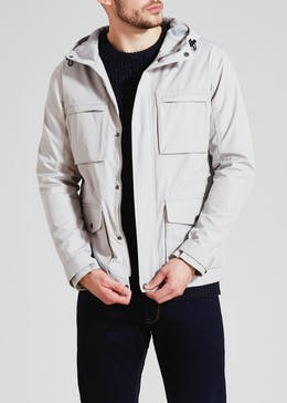 Multi Pocket Hooded Jacket