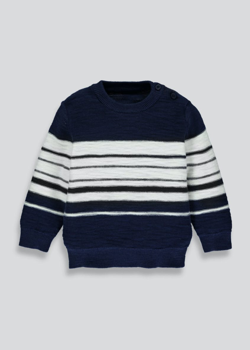 Boys Stripe Knitted Jumper (3mths-6yrs)