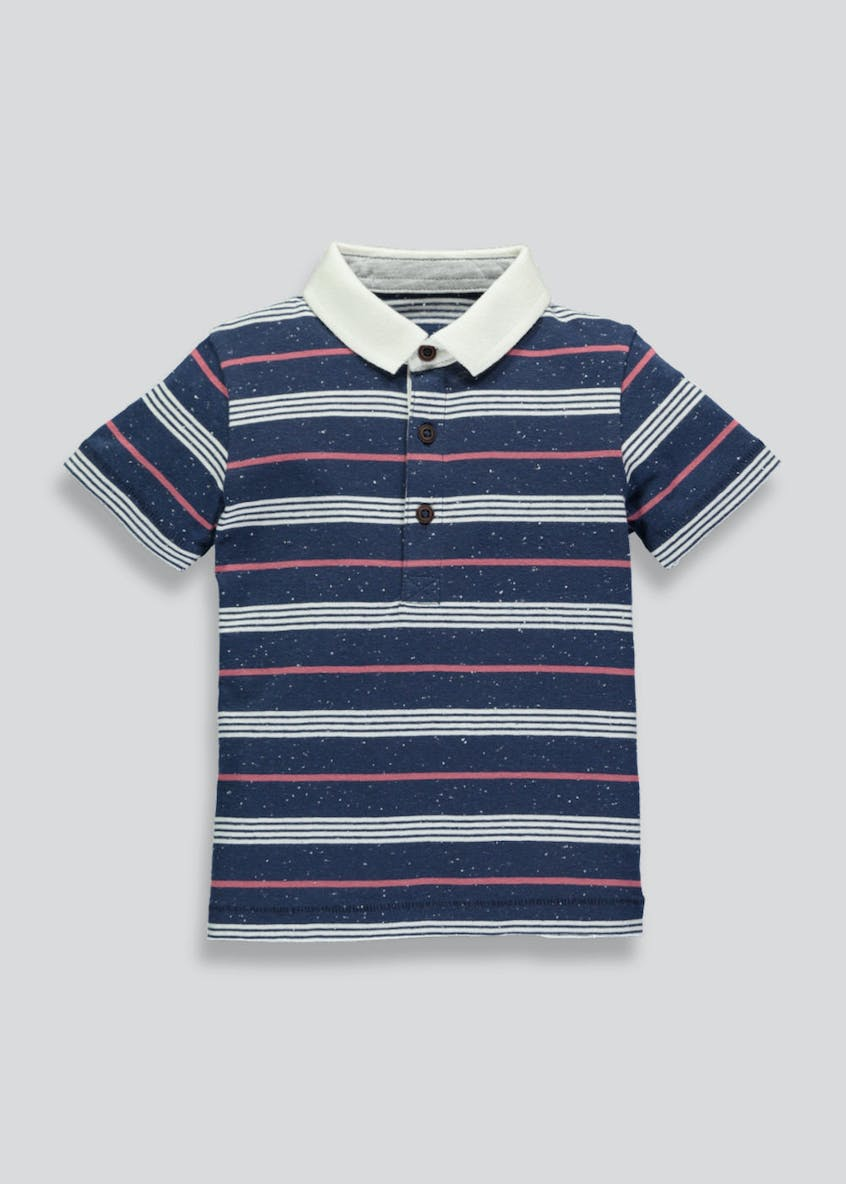 Boys Stripe Polo Shirt (3mths-6yrs)