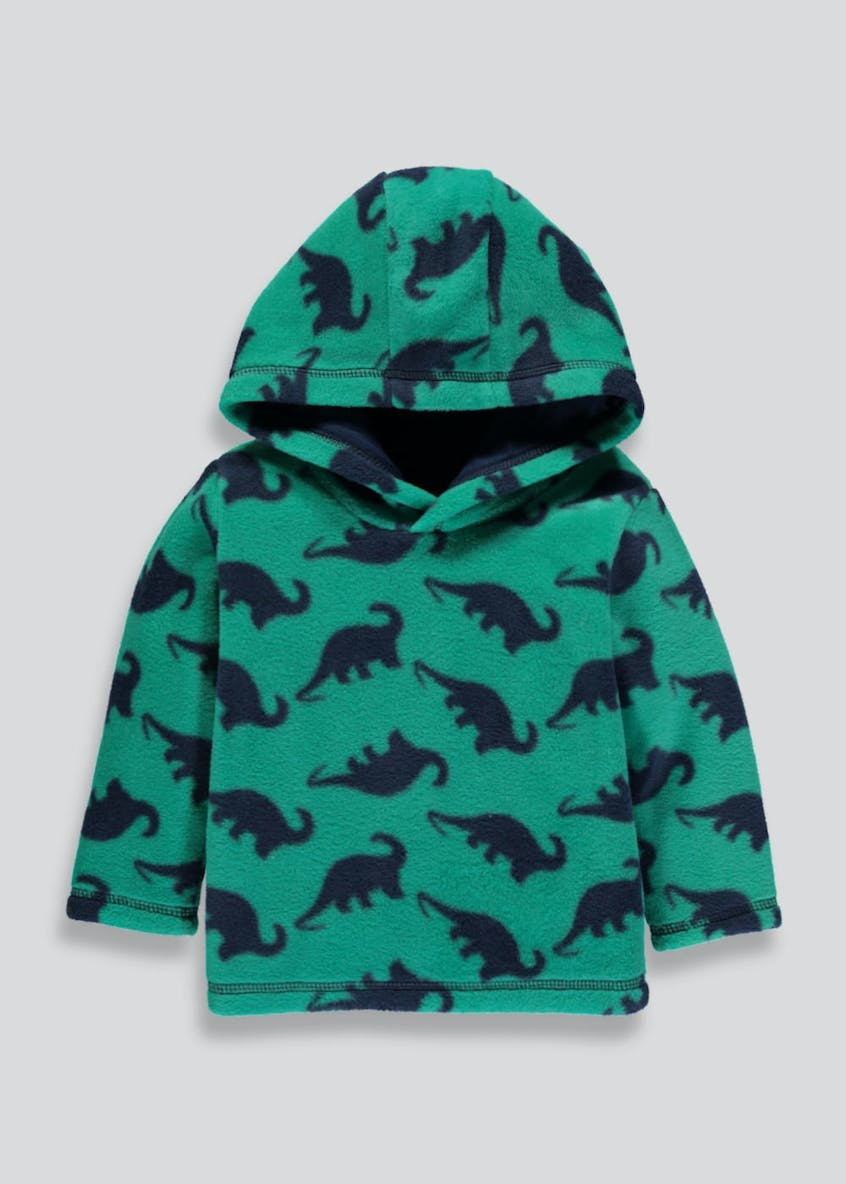 Boys Dinosaur Hooded Fleece (3mths-5yrs)