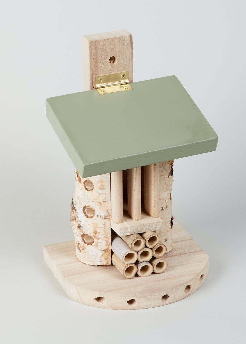 Wooden Insect House (24cm x 15cm x 13cm)