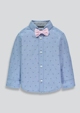 Boys Anchor Shirt & Bow Tie (3mths-6yrs)