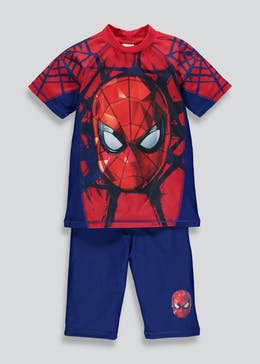 Kids Spider-Man 2 Piece Surf Suit (2-9yrs)