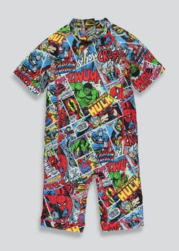 Kids Marvel Surf Suit (12mths-5yrs)