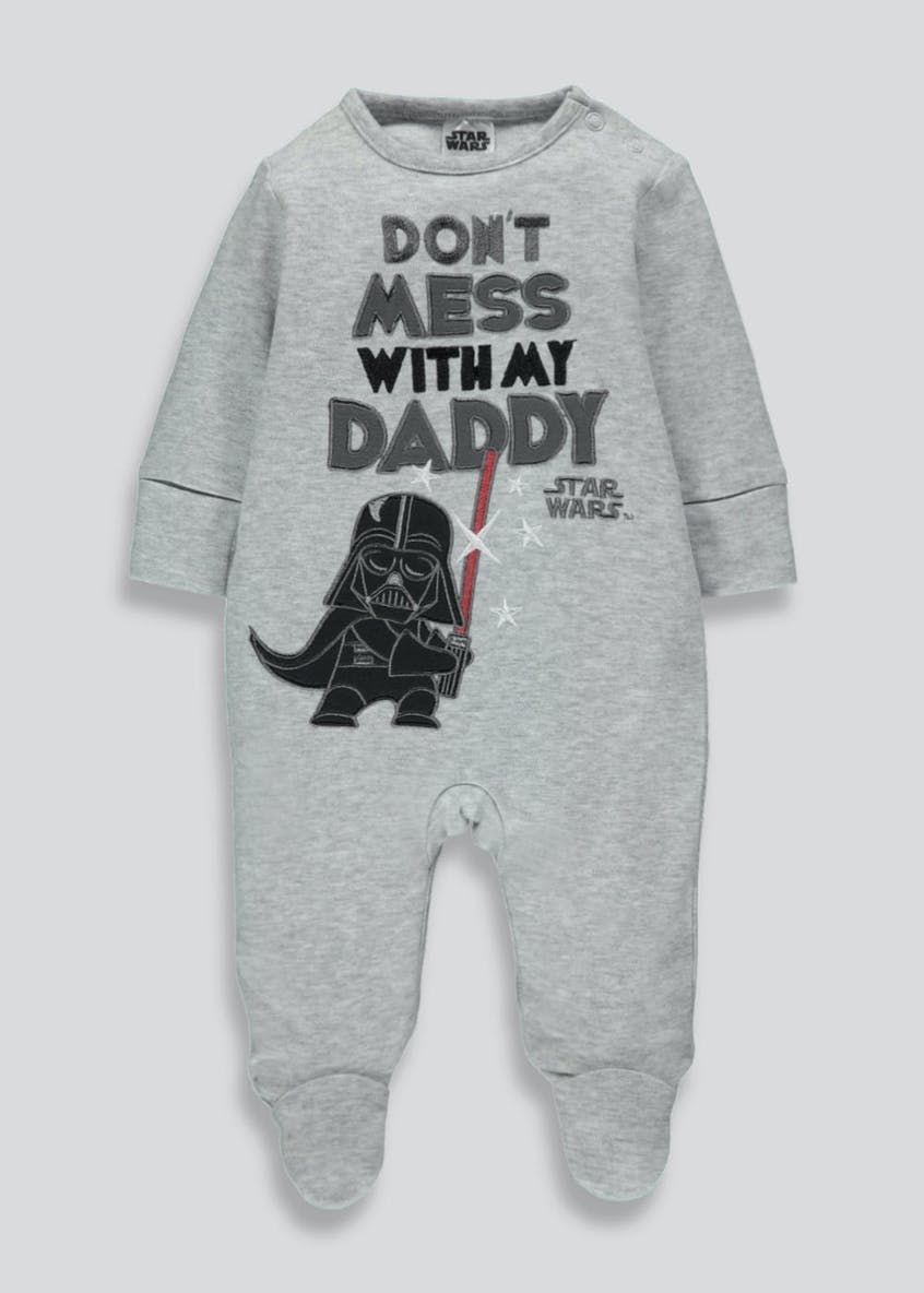 Unisex Star Wars Sleepsuit (Newborn-12mths)