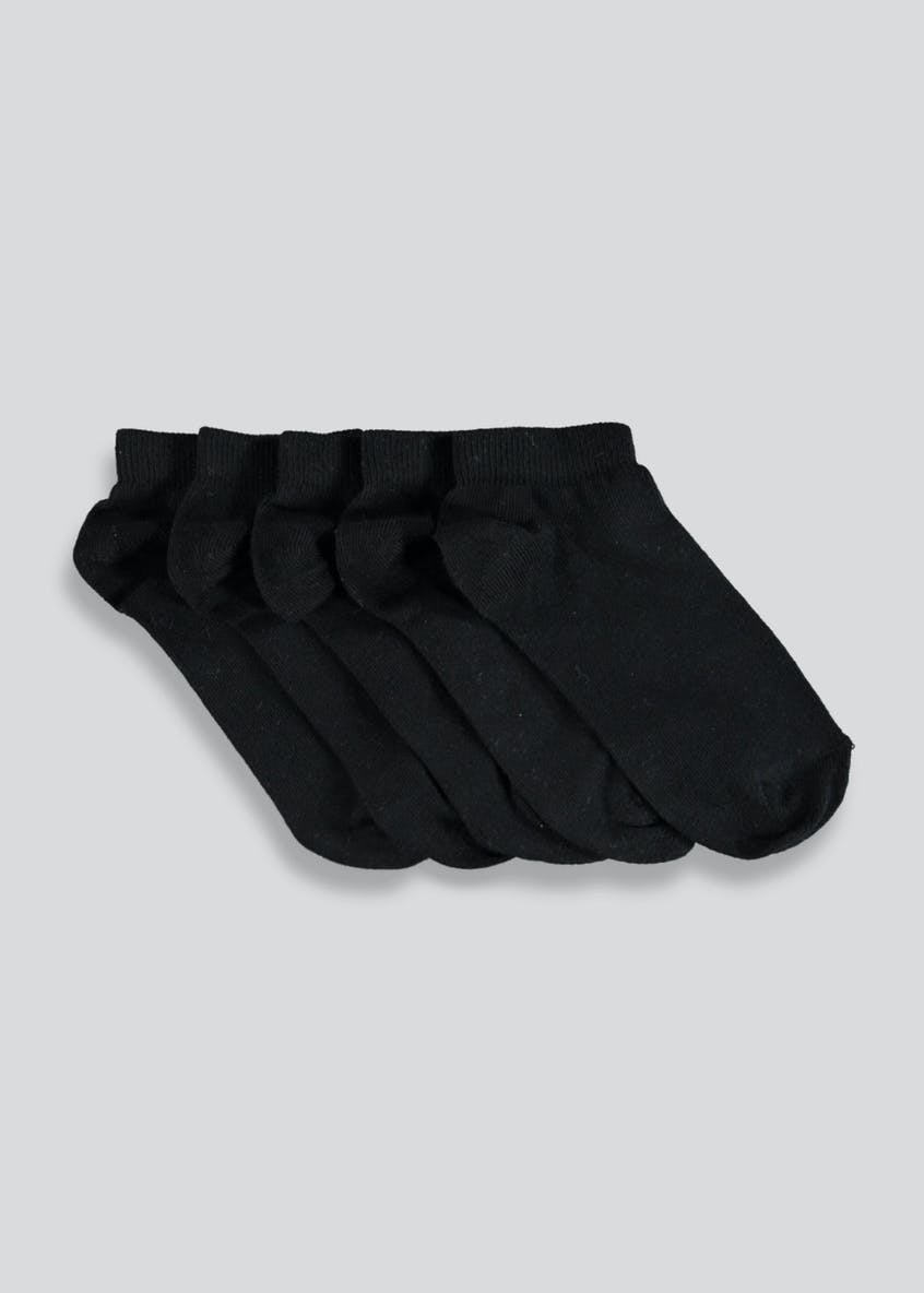 Kids 5 Pack Trainer Socks (Younger Kids 6-Older Kids 5.5)