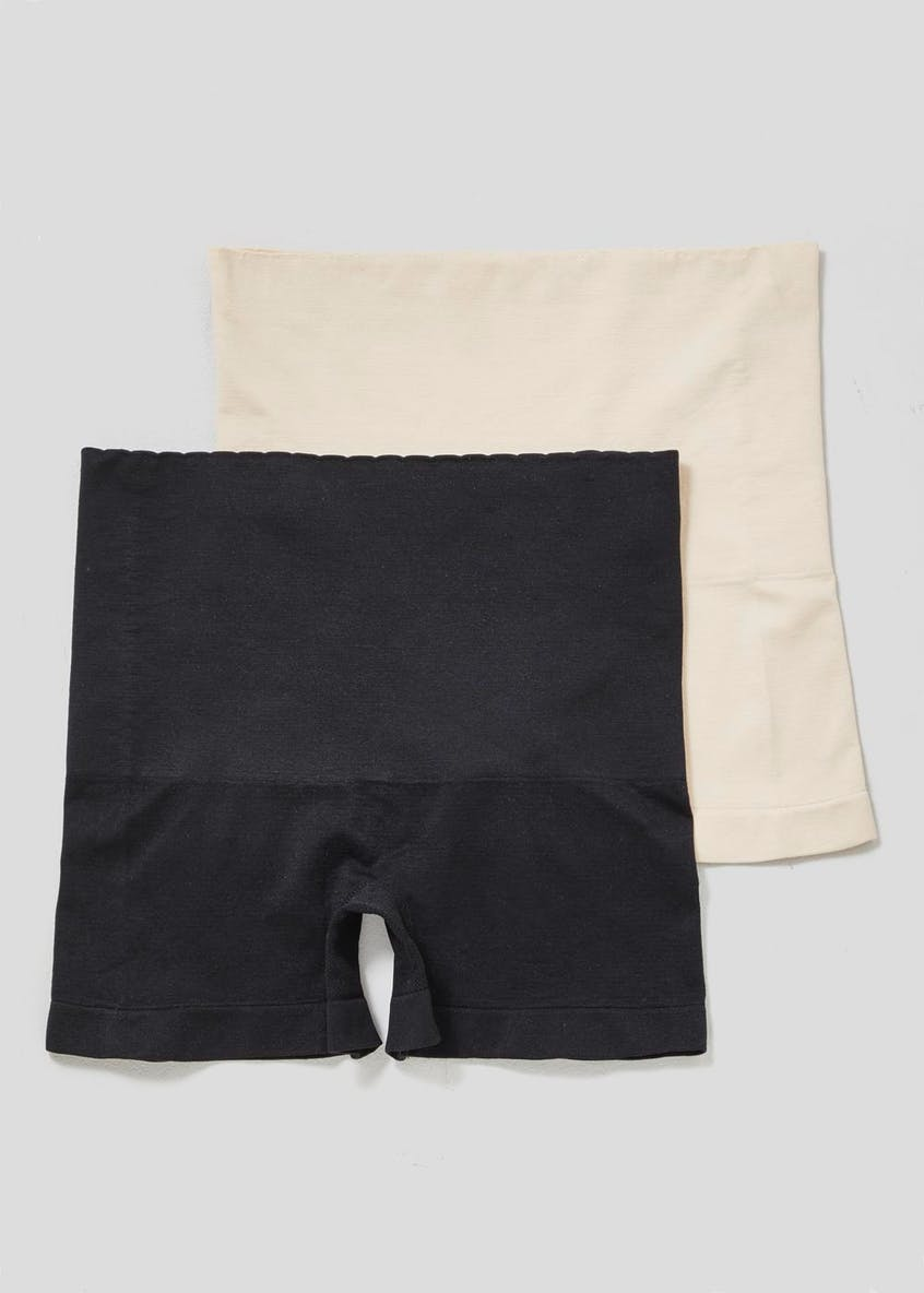 2 Pack Seam Free Shaping Shorts