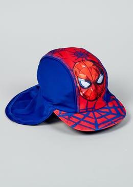 Kids Spider-Man Keppi Sun Hat (12mths-7yrs)