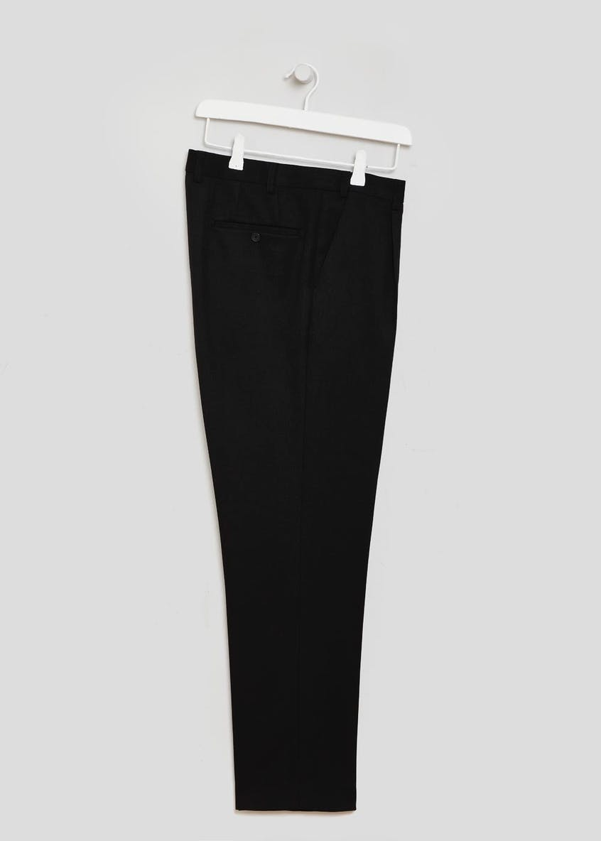 Regular Fit Flexi Waist Trousers
