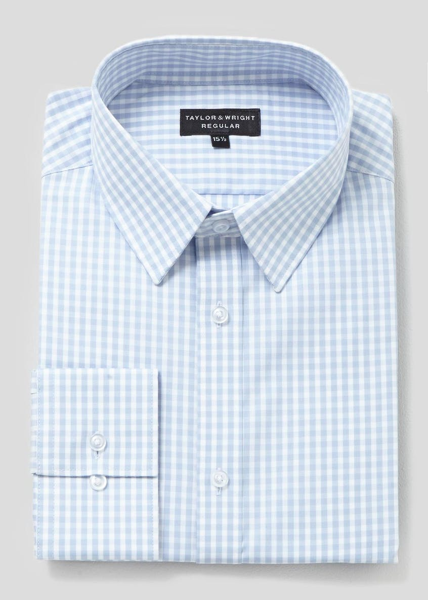 100% Cotton Regular Fit Gingham Shirt
