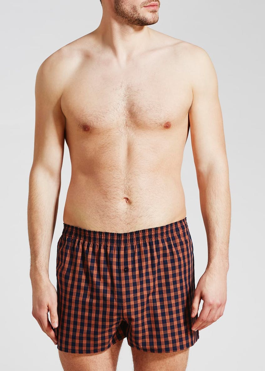 3 Pack Check Boxers
