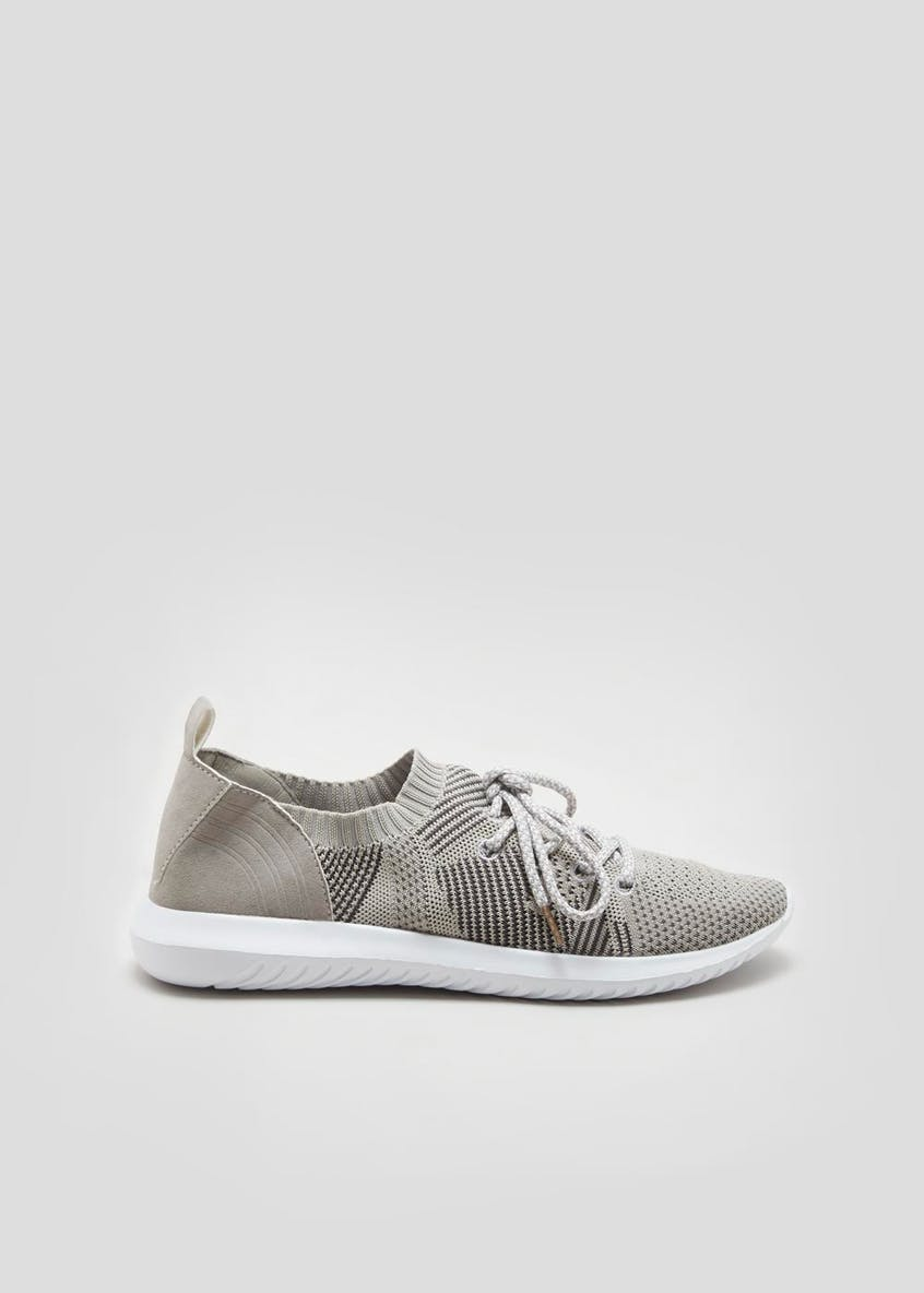 Souluxe Knitted Trainers