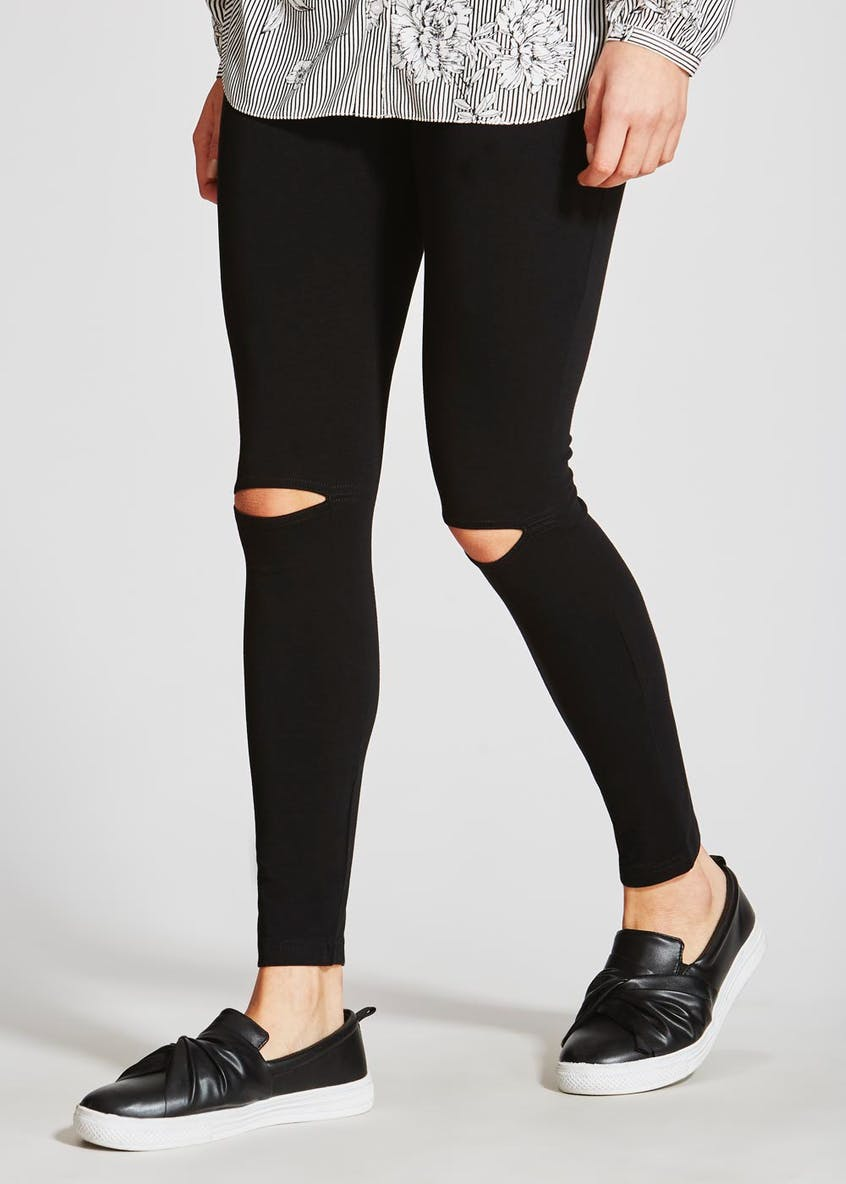 Ripped Knee Leggings
