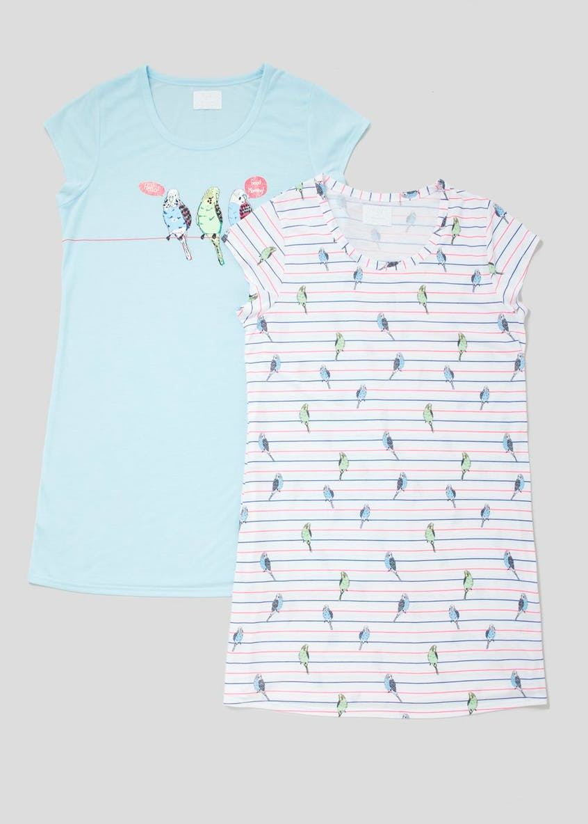 2 Pack Budgie Nighties