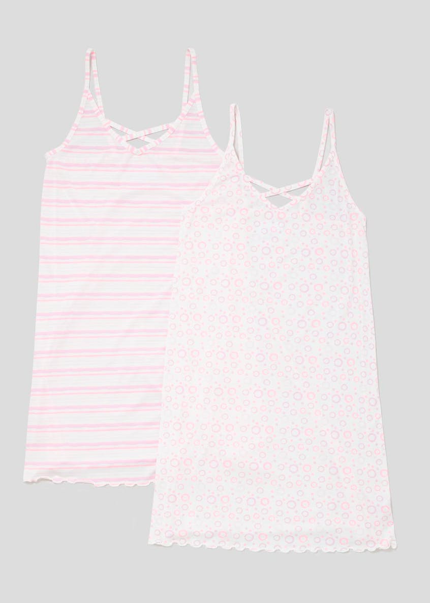 2 Pack Strappy Nighties