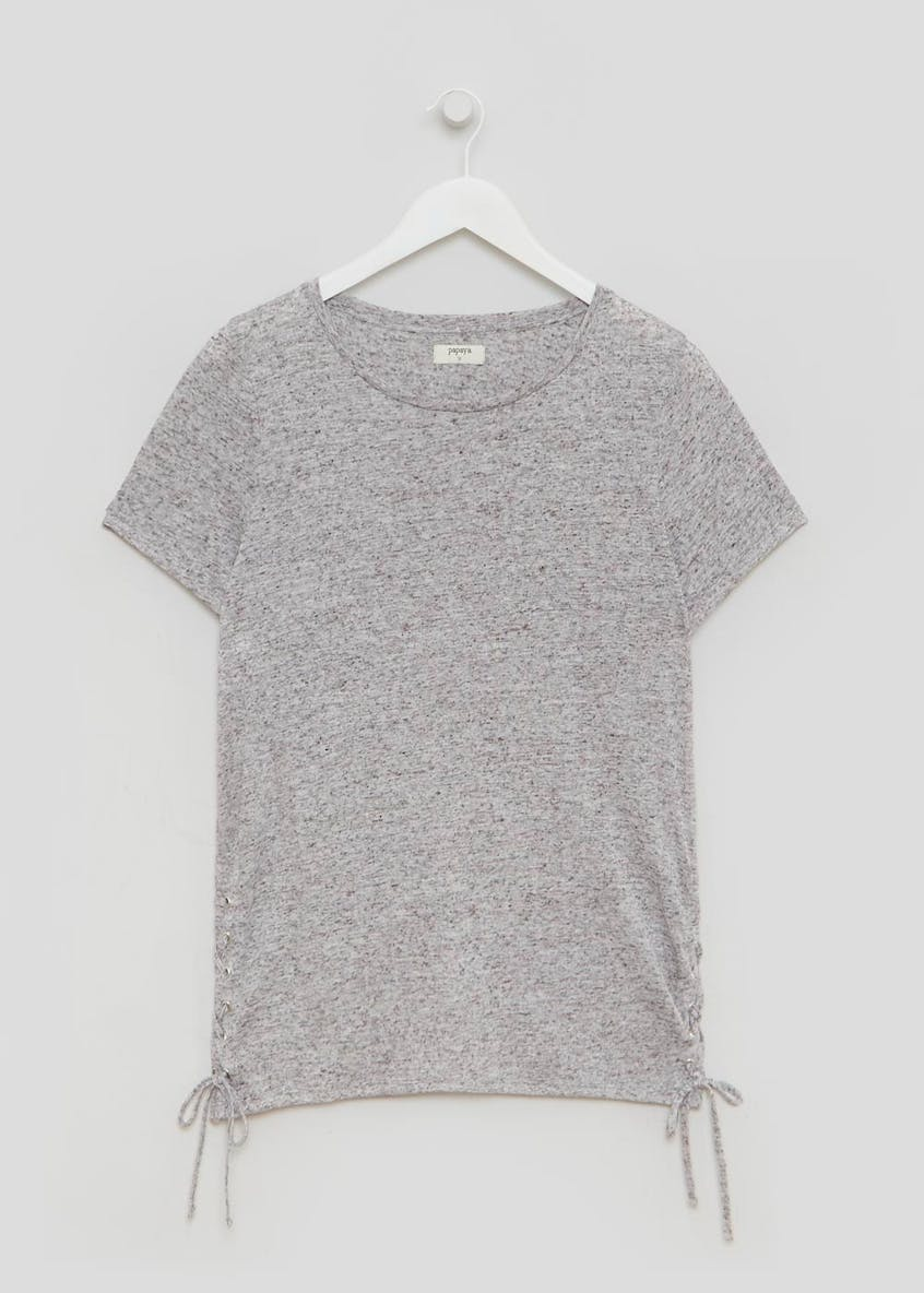 Lattice Side T-Shirt