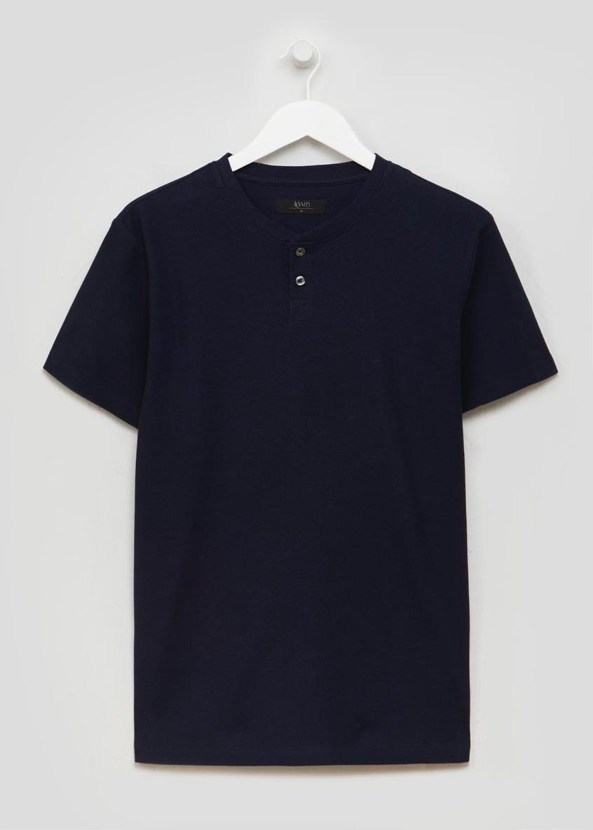 Grandad Collar T-Shirt