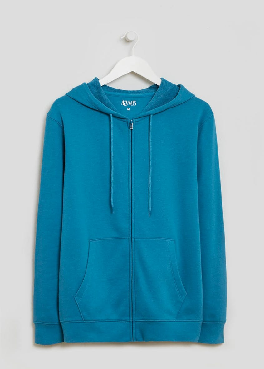Zip Through Jersey Hoodie