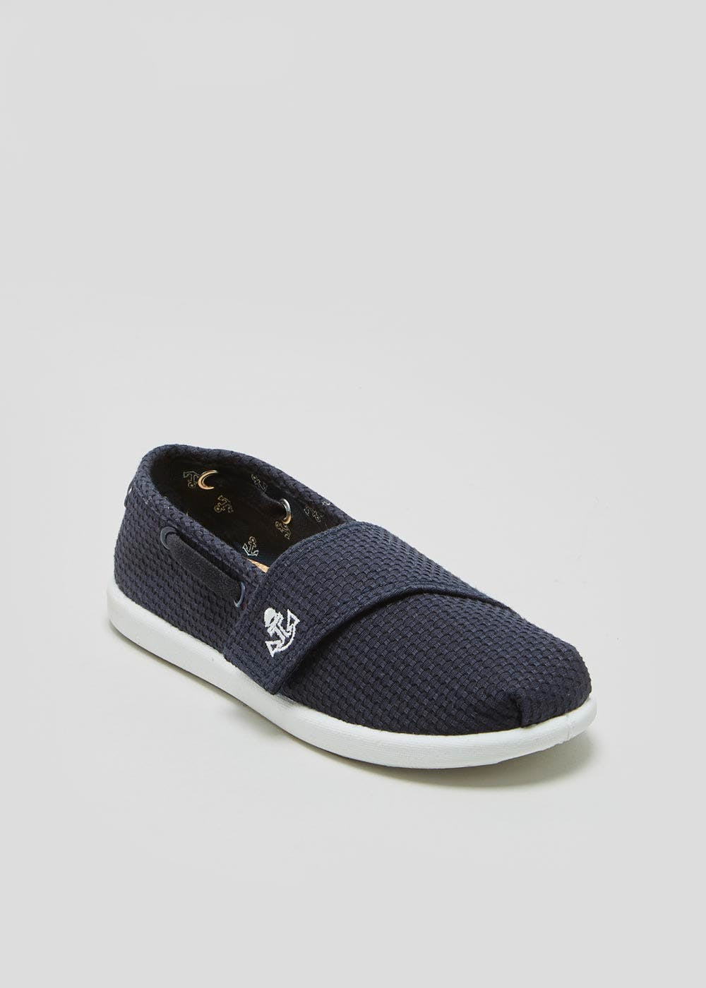 Boys Canvas Boat Shoes (Younger 4-12