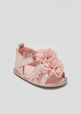 Girls Soft Sole Occasion Baby Sandals (Newborn-18mths)